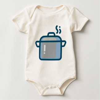 Body Para Bebé Cocido al vapor del pote al vapor