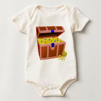 Body Para Bebé Cofre del tesoro