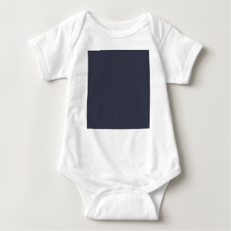 Body Para Bebé Color azul sólido de la marina de guerra oscura