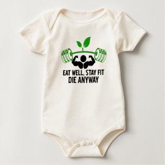 Body Para Bebé coma bien, estancia apta mueren de todos modos,