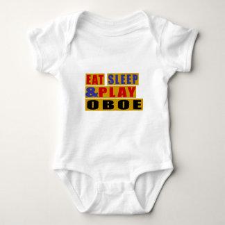 Body Para Bebé Coma el sueño y el juego OBOE