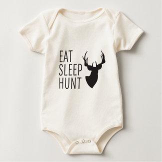 Body Para Bebé Coma la caza del sueño