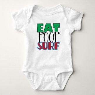 Body Para Bebé Coma la resaca del impulso