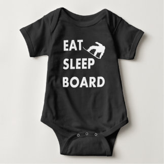 Body Para Bebé Coma la snowboard del tablero del sueño