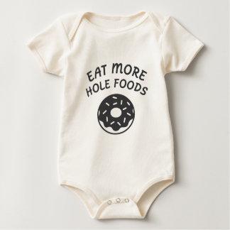 Body Para Bebé Coma más comidas del agujero