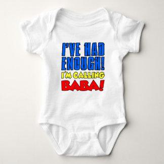 Body Para Bebé Comía bastante bizcocho borracho de llamada