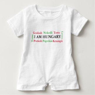 Body Para Bebé Comidas húngaras