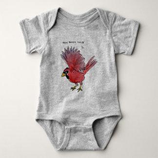 Body Para Bebé Cómo los pájaros agitan al cardenal
