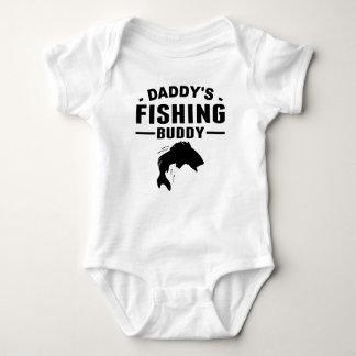 Body Para Bebé Compinche de la pesca del papá