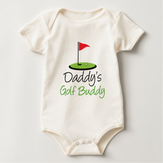 Body Para Bebé Compinche del golf del papá