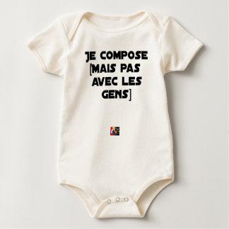 BODY PARA BEBÉ COMPONGO (PERO NO CON LA GENTE) - JUEGOS DE