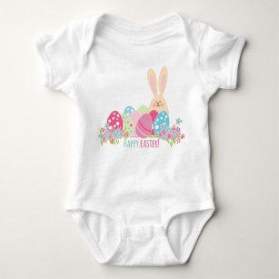 Body Para Bebé Conejito de pascua feliz