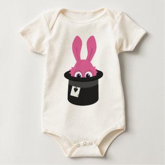 Body Para Bebé Conejito rosado lindo para Pascua feliz