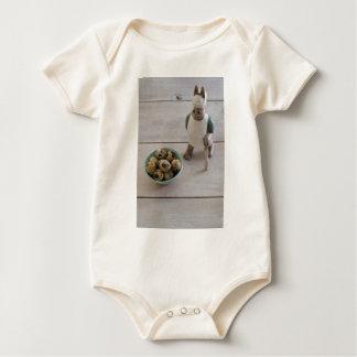 Body Para Bebé Conejito y huevos en un cuenco