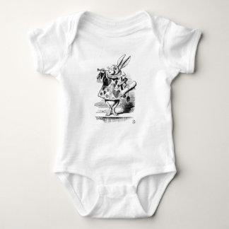 Body Para Bebé Conejo blanco
