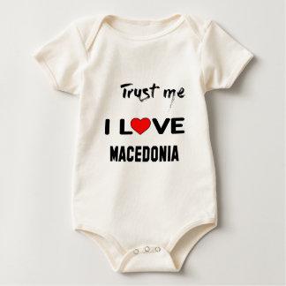 Body Para Bebé Confíeme en amor Macedonia de I