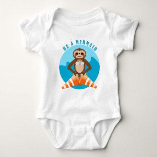 Body Para Bebé Cono del tráfico de la sirena de la pereza