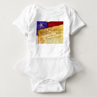 Body Para Bebé Constitución 4ta julio de la independencia del 4