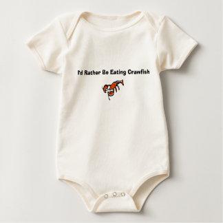 Body Para Bebé Consumición de cangrejos