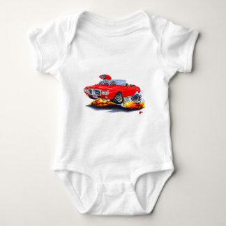 Body Para Bebé Convertible rojo 1969 de Firebird