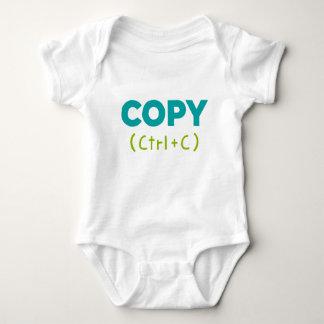 Body Para Bebé COPIE (Ctrl+C) Copia y goma