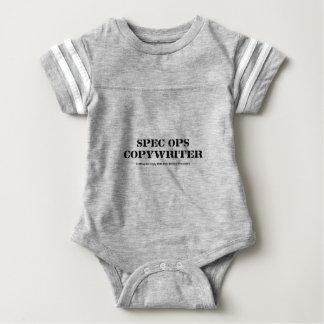 Body Para Bebé Copywriter de espec. Ops