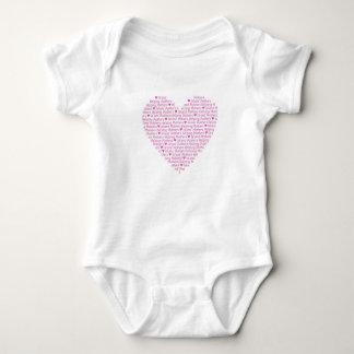 Body Para Bebé Corazón BabyWEAR de IMHM