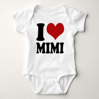 Body Para Bebé Corazón lindo Mimi de I