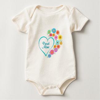 Body Para Bebé Corazón orgulloso Mimi