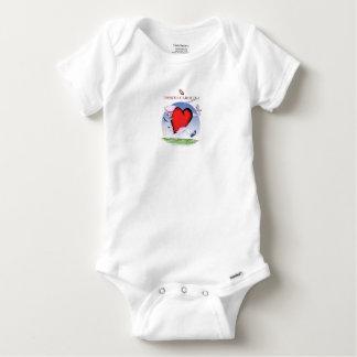 Body Para Bebé corazón principal de Carolina del Norte, fernandes