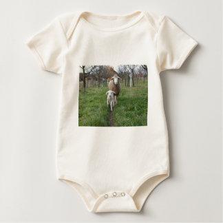 Body Para Bebé Cordero y ovejas