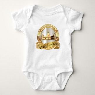Body Para Bebé Corona de la comunidad del reino
