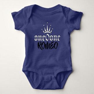 Body Para Bebé Corona Romeo real 101