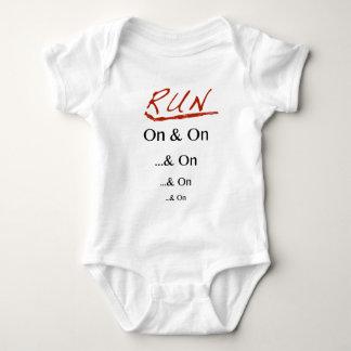 Body Para Bebé Corra encendido y encendido