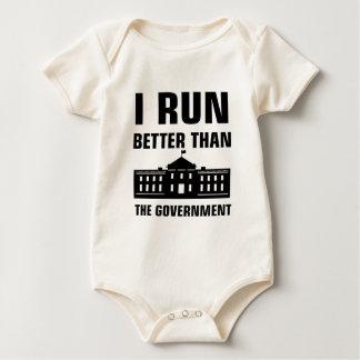 Body Para Bebé Corra mejor que el gobierno