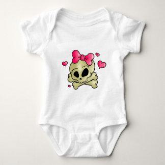 Body Para Bebé Cráneo bonito
