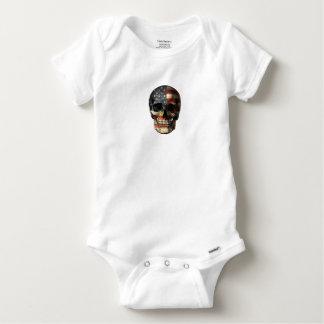 Body Para Bebé Cráneo de la bandera americana