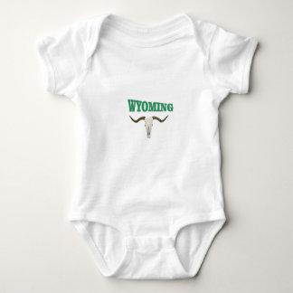 Body Para Bebé Cráneo de Wyoming