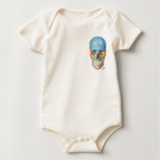 Body Para Bebé Cráneo del Netter en un bebé de una sola pieza