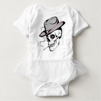 Body Para Bebé cráneo rosado del ojo