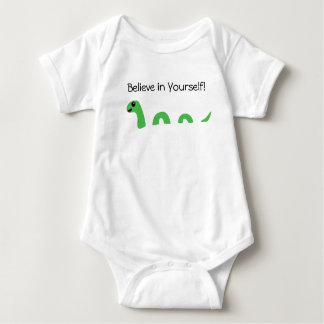 Body Para Bebé Crea en sí mismo al monstruo de Loch Ness del