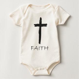Body Para Bebé Cruz de la fe