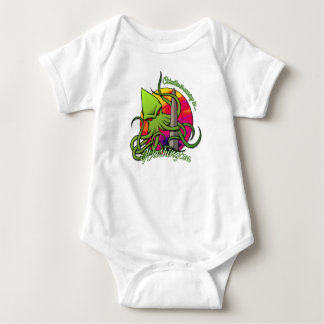 Body Para Bebé Cthulhu que come el obelisco en la C.C. de
