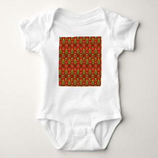 Body Para Bebé Cuadrados decorativos del día de fiesta