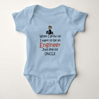 Body Para Bebé Cuando crezco al ingeniero