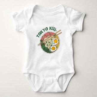 Body Para Bebé Cuenco japonés de los tallarines de Ramen de la
