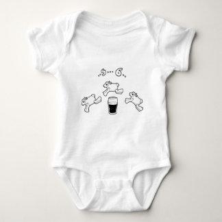 Body Para Bebé Cuenta irlandesa de las ovejas