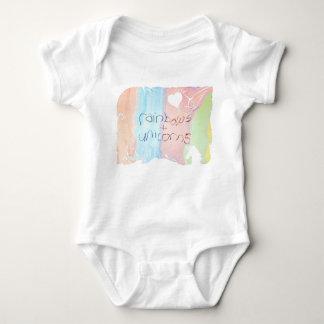 Body Para Bebé Cuento de hadas encantado del arco iris y del
