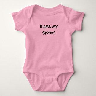 Body Para Bebé ¡Culpa del KRW mi hermana!