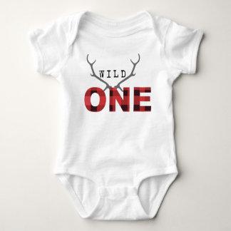 Body Para Bebé Cumpleaños salvaje rústico del leñador un el  